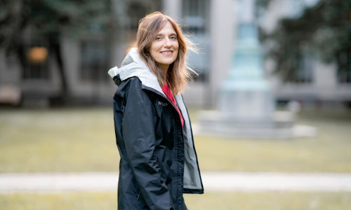 Massachusetts Institute of Technology artificial intelligence researcher Regina Barzilay, inaugural recipient of a new award from the Association for the Advancement of Artificial Intelligence.